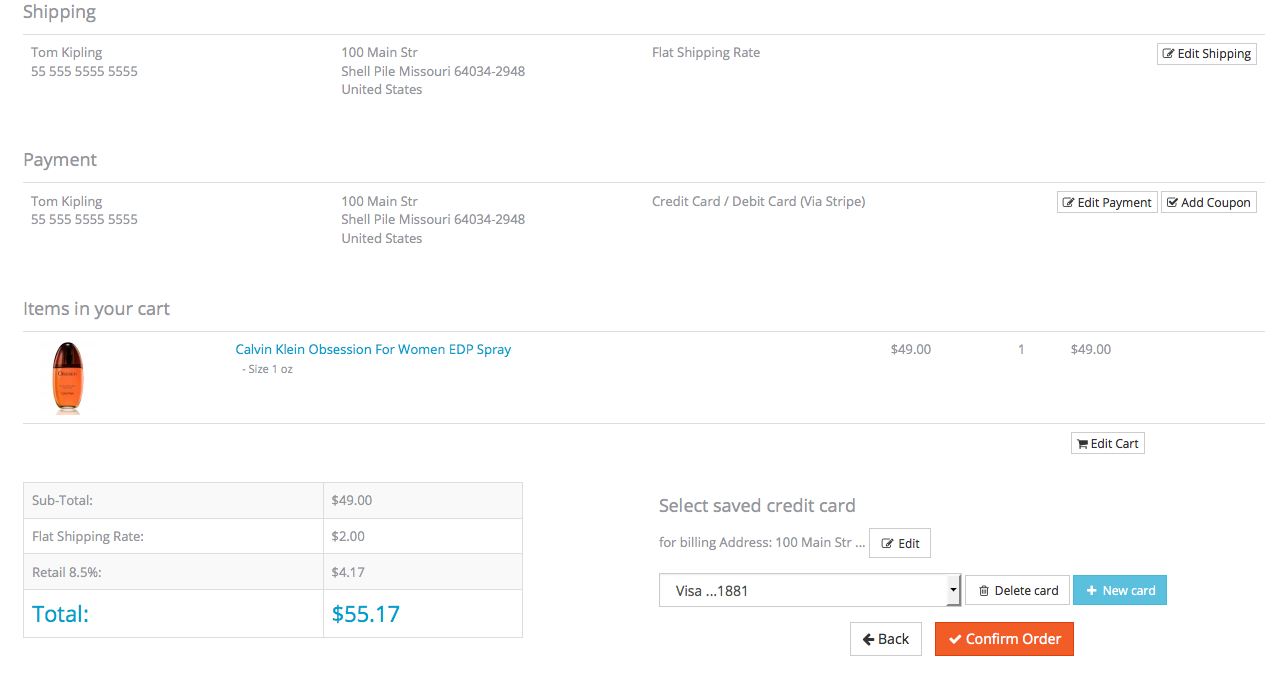 Advanced Stripe Payment Gateway 3D Secure