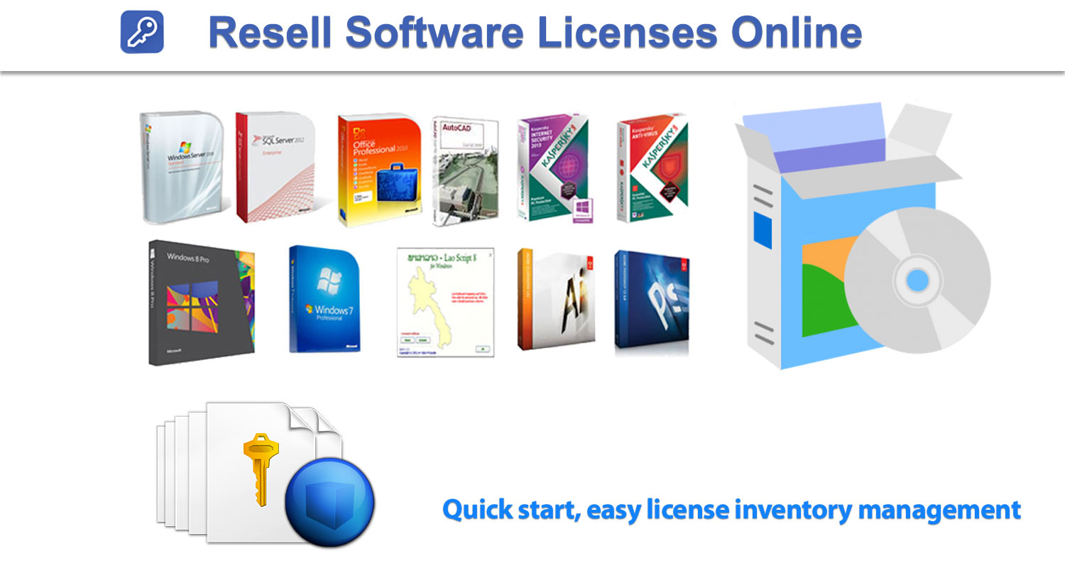 Resale Software Licenses online