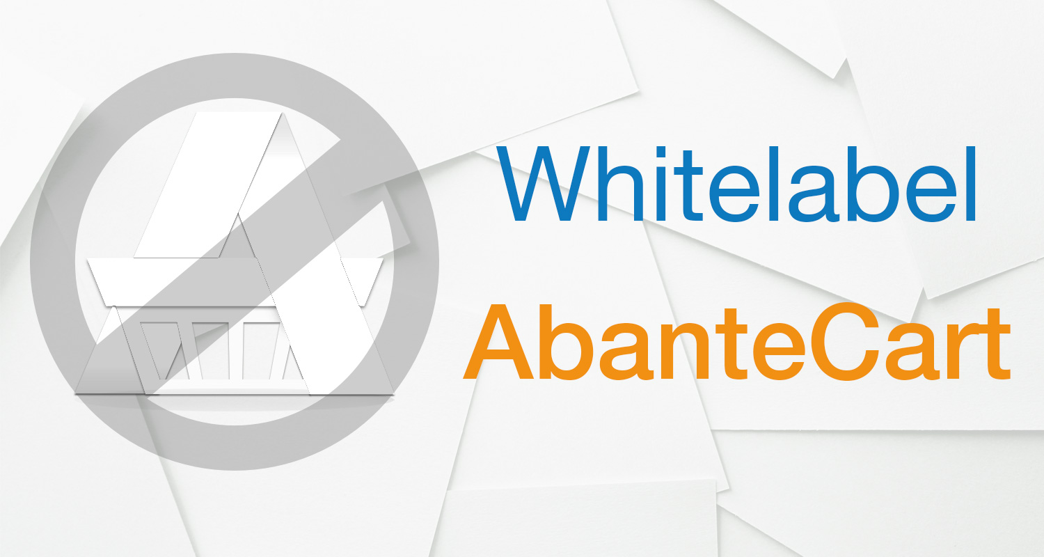 Whitelabel AbanteCart (Remove AbanteCart name)